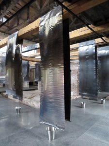 Installation von Reto Emch in Moskau