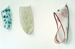 Werke von Adelheid Hanselmann in der Galerie Rössli Balsthal. (Foto: Eva Buhrfeind)