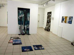 Blick in die Ausstellung von Helga Schuhr vom 19.1. – 9. Februar 2019 in der Galerie Artesol Solothurn.
