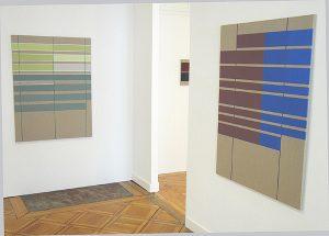 Werke von José Heerkens 2019 in der Galerie Abbühl, Solothurn. (Foto: Eva Buhrfeind)