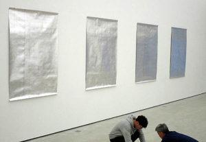 Atsuo Hukuda und Shuhei Fukuda 2020 im Haus der Kunst St. Josef, Solothurn