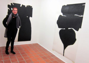 Ruth Berger 2020 in der Galerie Rössli in Balsthal. (Foto: Eva Buhrfeind)