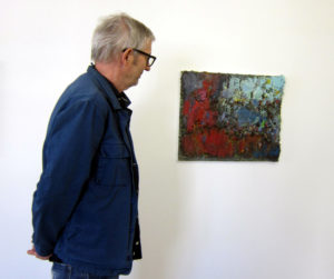 Bruno Seitz 2020 in der Galerie Rössli in Balsthal. (Fotos: Eva Buhrfeind)