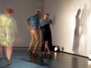 Szene aus «No Tears» mit El Contrabando 2020 im Haus der Kunst in Solothurn.