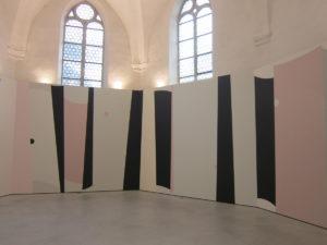 Werk von Clare Goodwin im Haus der Kunst, St. Josef, Solothurn. (Foto: Eva Buhrfeind)