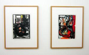 Werke von Raffaella Chiara in der Galerie Rössli, Balsthal. (Foto: Eva Buhrfeind)