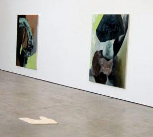 Werke von Dimitra Charamandas 2021 im Haus der Kunst St. Josef in Solothurn. (Foto: Eva Buhrfeind)